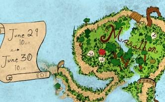 Eyewire, treasure map, marathon, Captain Grim, Grim Reaper