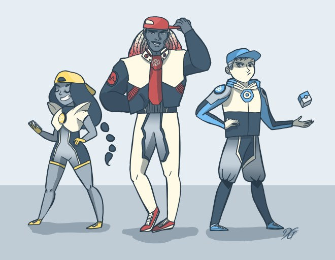 Team Mystic, Team Valor, Team Instinct, Mystic, Valor, Instinct, pokemon, eyewire, citizen science