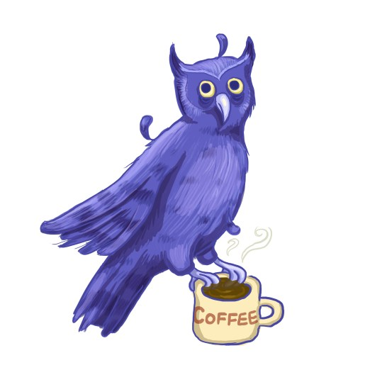 me_irl, night owl, too much coffee, coffee, owl, funny owl, night, nocturnal, tweak, spaz owl