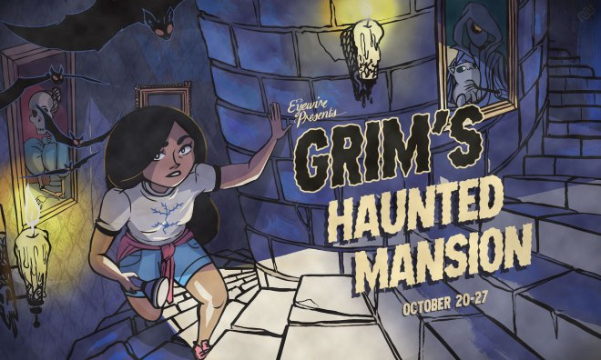 grim's haunted mansion, grim reaper, rika, eyewire, citizen science, daniela gamba, haunted house, halloween