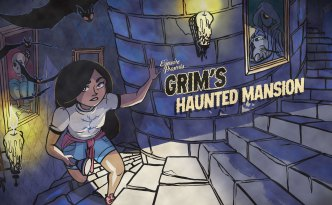 Grim's Haunted Mansion, citizen science, eyewire, halloween, haunted house, castle, daniela gamba