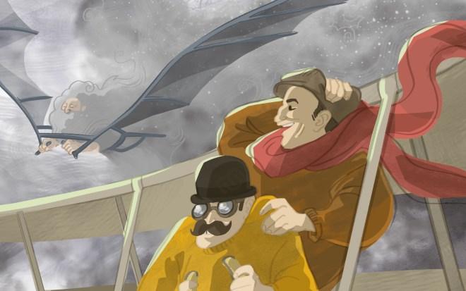 wright bros, da vinci, flight, airplane