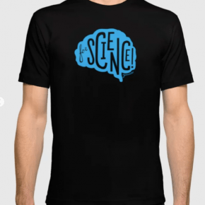 swag, for science, eyewire tee, t-shirt, eyewire, citizen science, brain swag, sciart, science art, for science, brain, art, brain tee