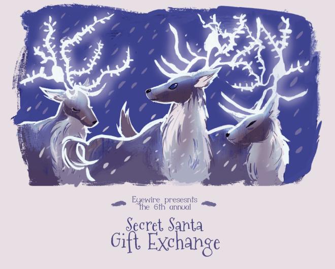 eyewire, secret santa, eyewire gifts, eyewire holiday