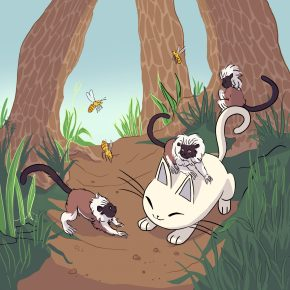nurro, tamarins, zoo brain, brain zoo, animals, animal brains, cute,