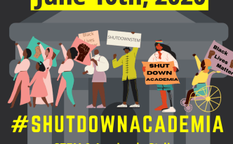 stem, shut down stem, black lives matter, science