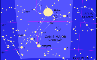sirius, canis major, constellation