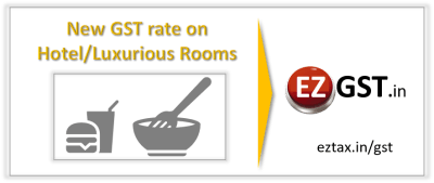 GST- Reduction-of-tax-on-Hotel-Luxurious-Rooms-EZTax.in