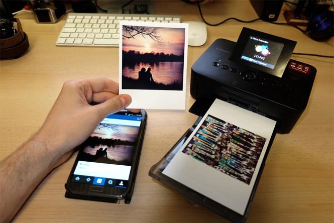 Canon Selphy CP910 Instagram Polaroid
