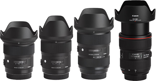 Sigma-24-35mm-f-2-DG-HSM-Art-Lens-Comparison-with-Hoods