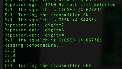 temperature on svxlink