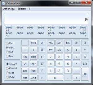 The programming Calculator