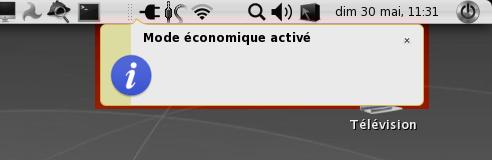Mode économique activé