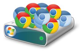 Chrome / Chromium and disk space