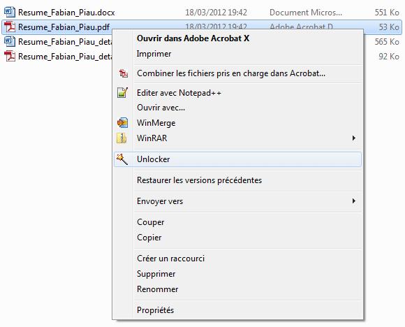 Contextual menu Unlocker