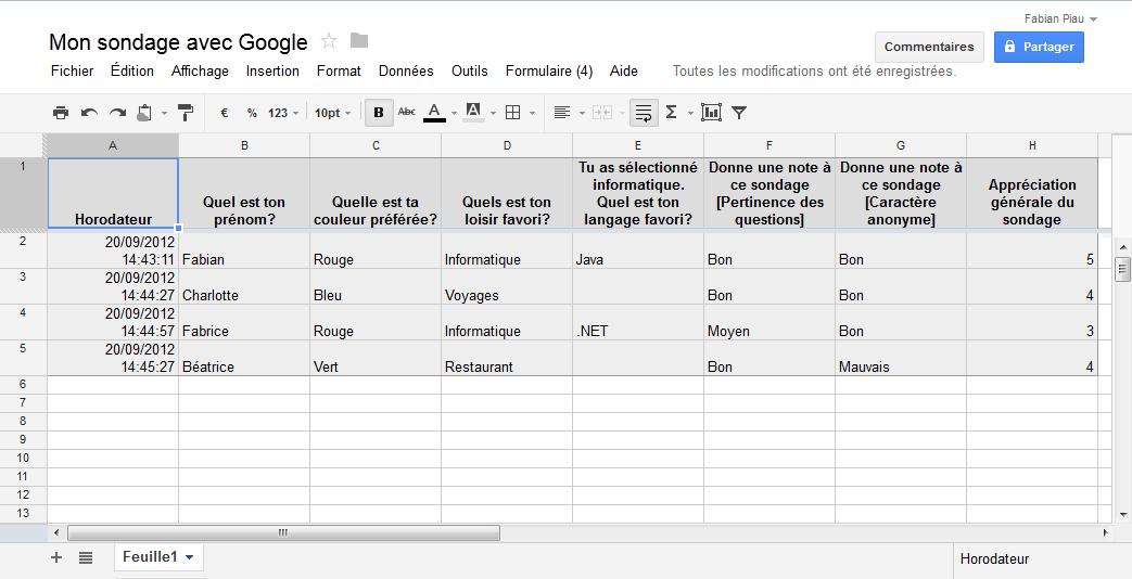 r u00e9aliser un sondage en ligne avec google forms    drive    docs