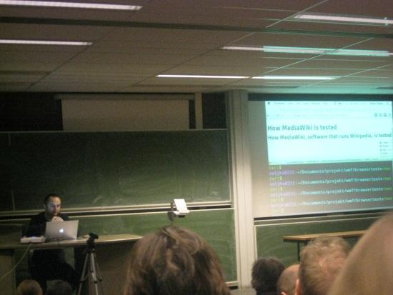 Talk sur MediaWiki