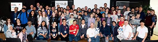 Devoxx4Kids 2018 à Londres - Photo de groupe