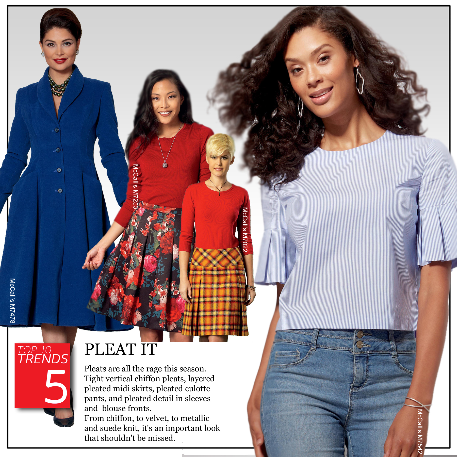 Trend 5 - Pleat It