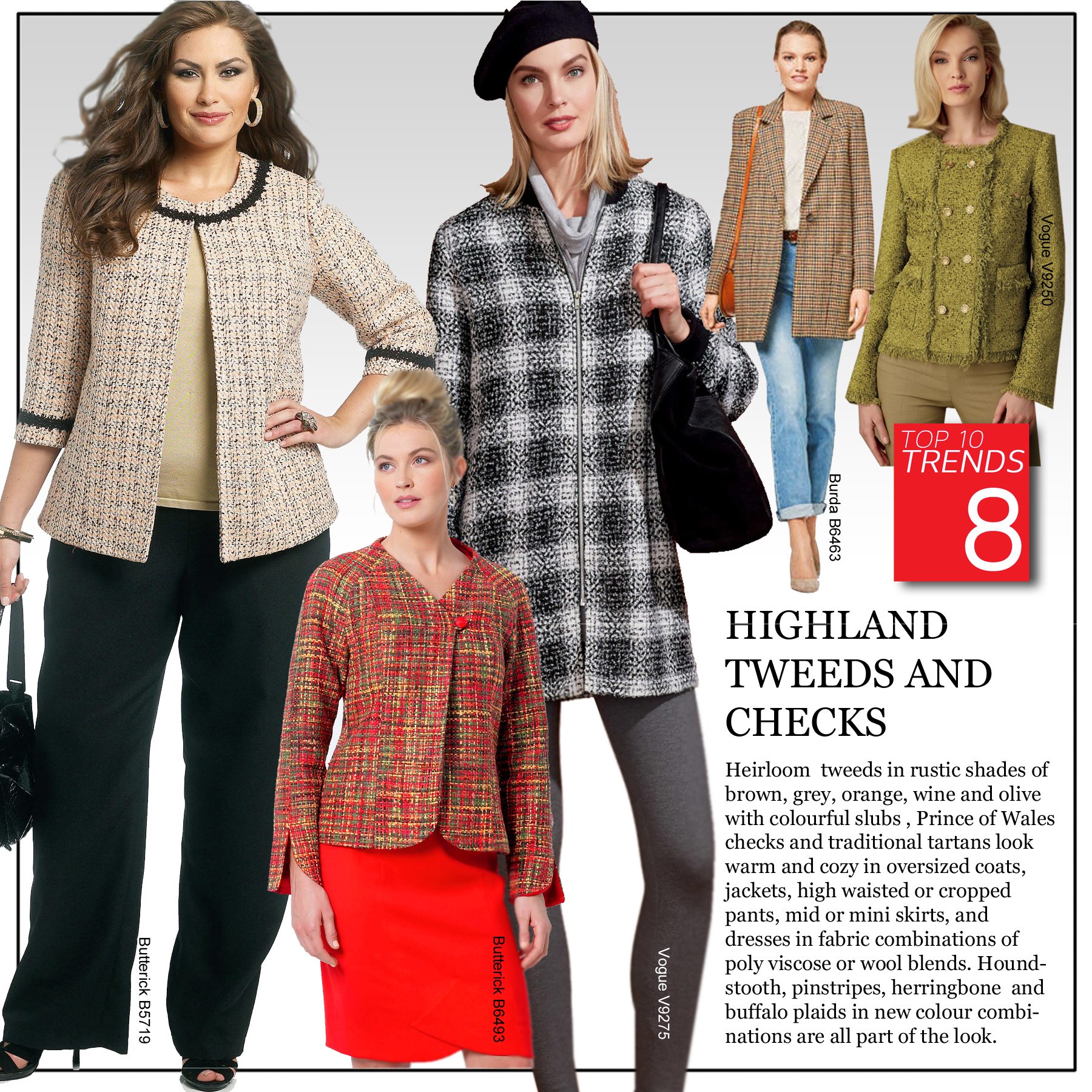 Trend 8 - Highland Tweeds and Checks
