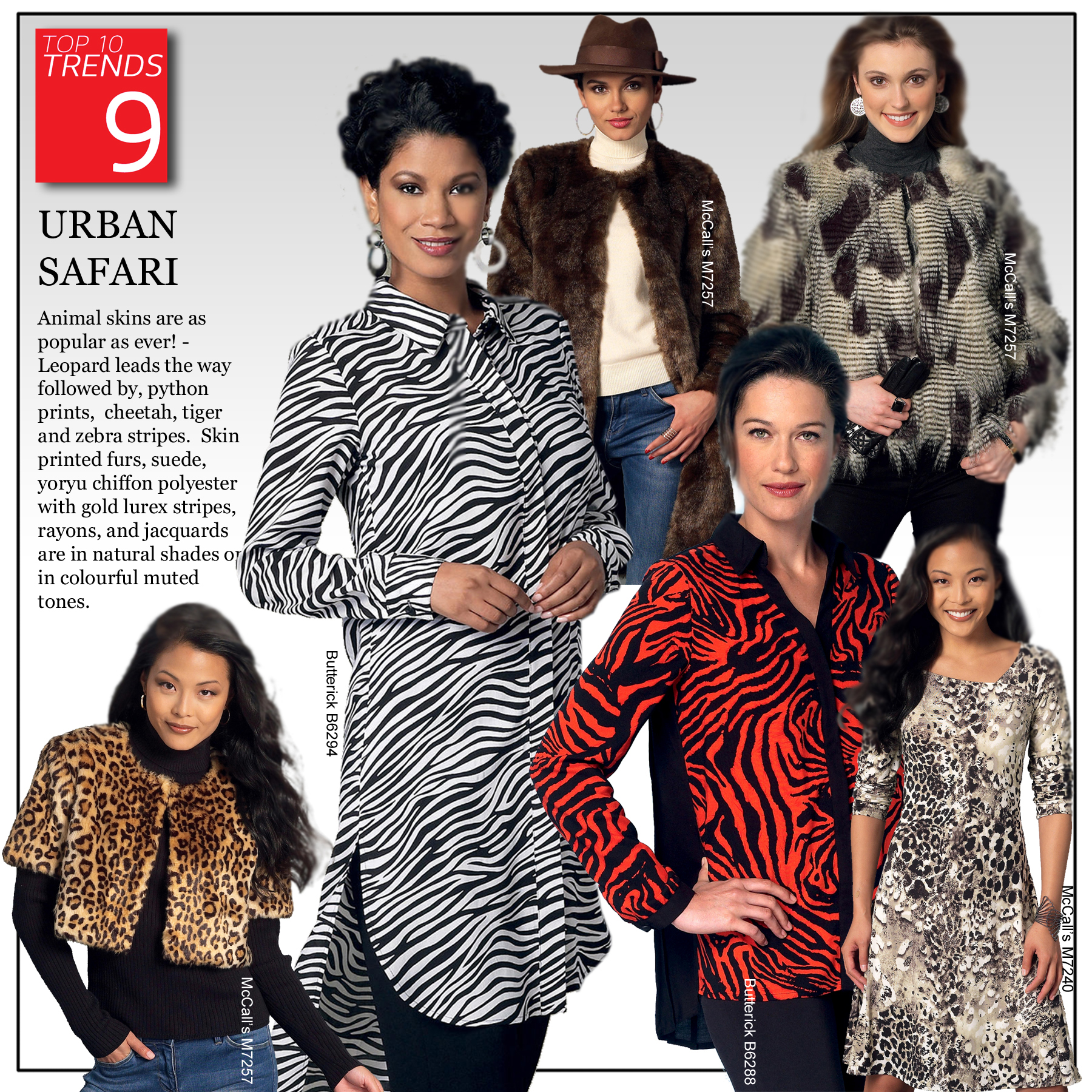 Trend 9 - Urban Safari