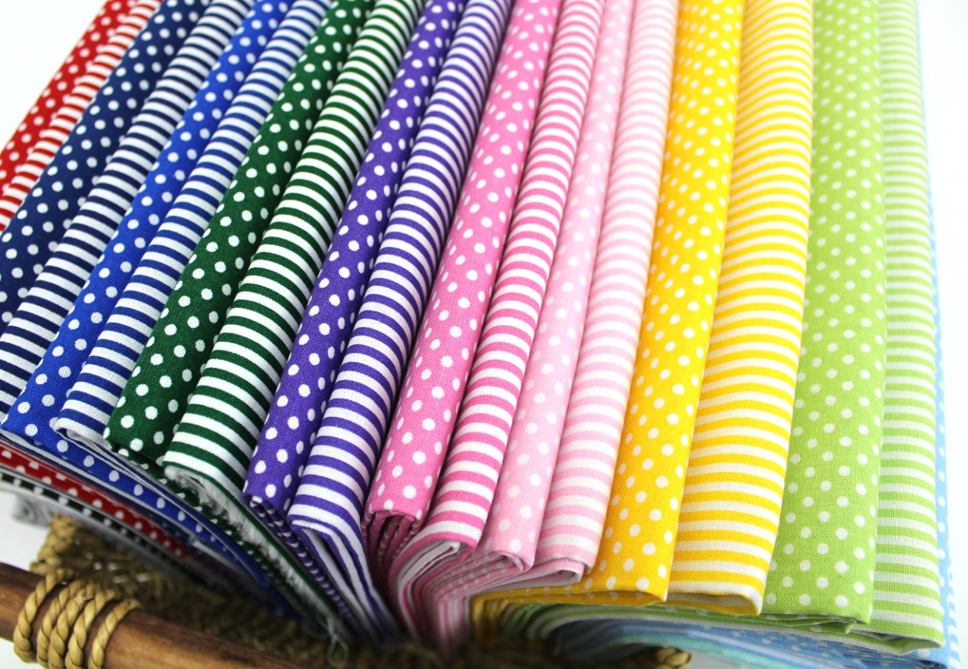 3 mm dot and stripe fabric photo