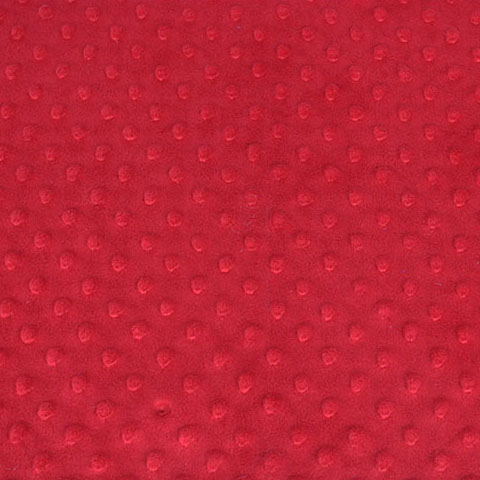 dimple chenille red