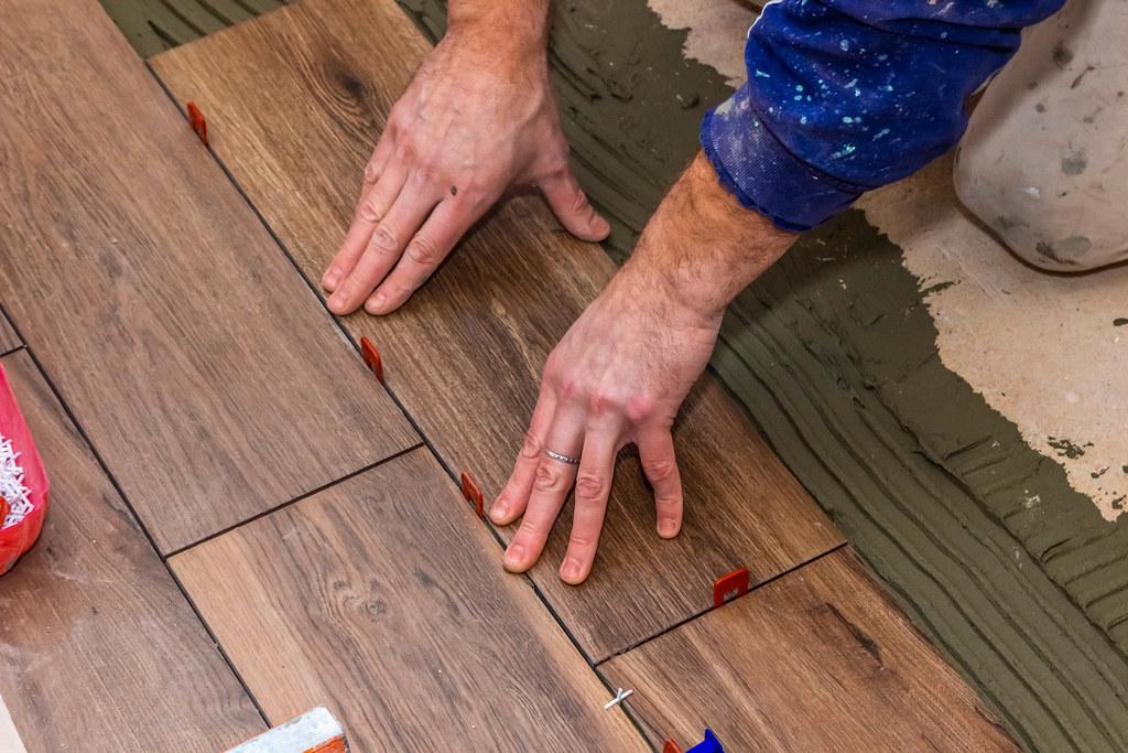 Installing Tile Adhesive