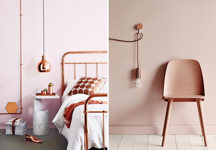 Duluxs Colour Of The Year Is Copper How To Make It Work