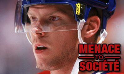 Saku Koivu: Menace to société