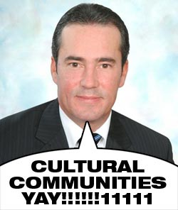 Transcontinental's Serge Lemieux: Cultural communities Yay!!!!!111