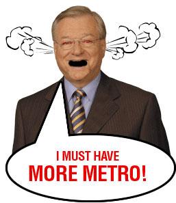 Vaillancourt needs MORE METRO!