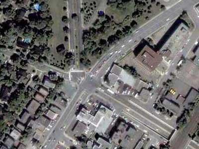 5-way intersection No. 1