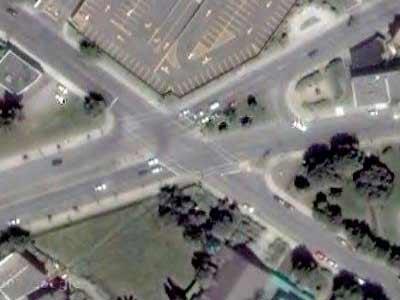 5-way intersection No. 4