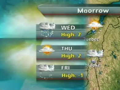 Global Quebec weather graphic
