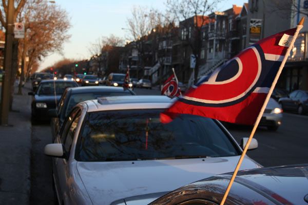 Habs flags