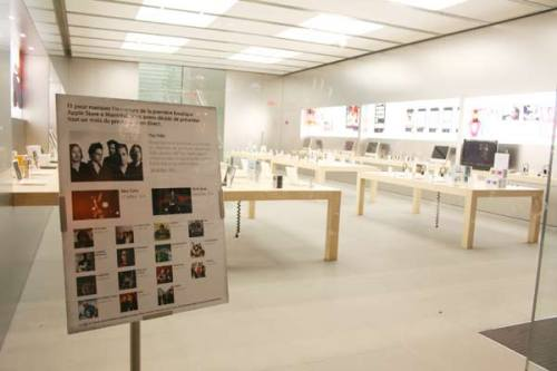 Upcoming events at the Apple Store