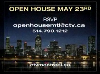 CTV Open House contact info