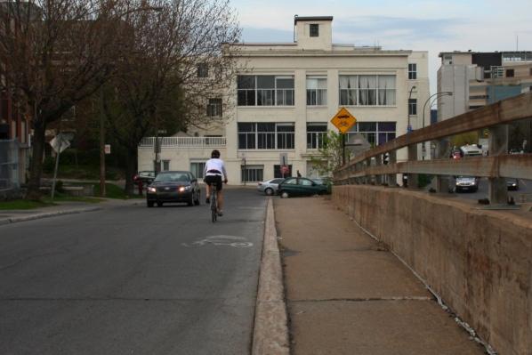 Where's the bike path?