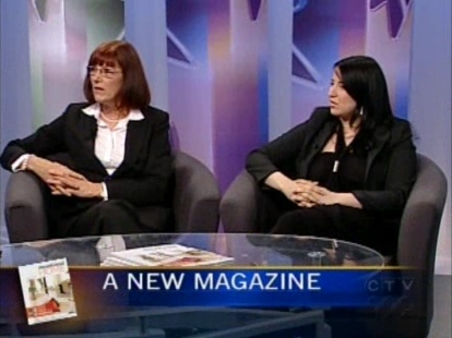 Montreal Home magazine's Stephanie Whittaker (left) and Leah Lipkowitz. (CTV)