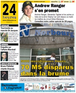 24 Heures from four years ago (Aug. 26, 2005)