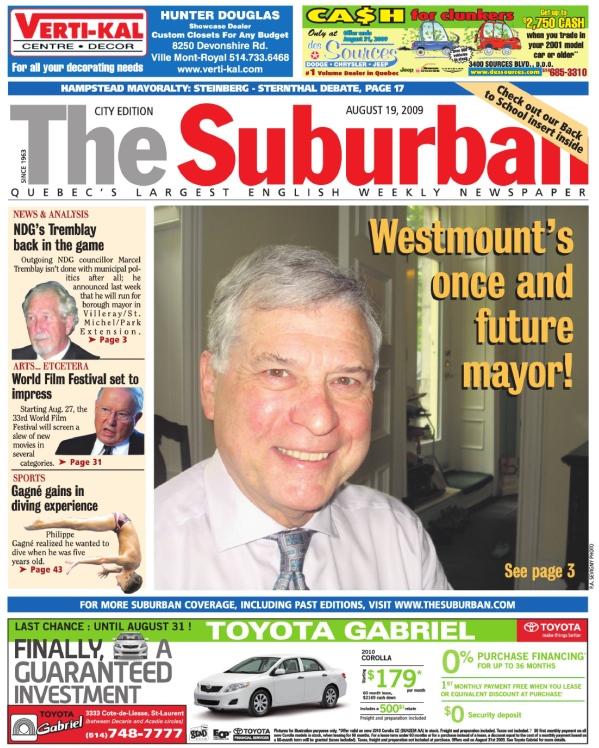 The Suburban, Aug. 19, 2009