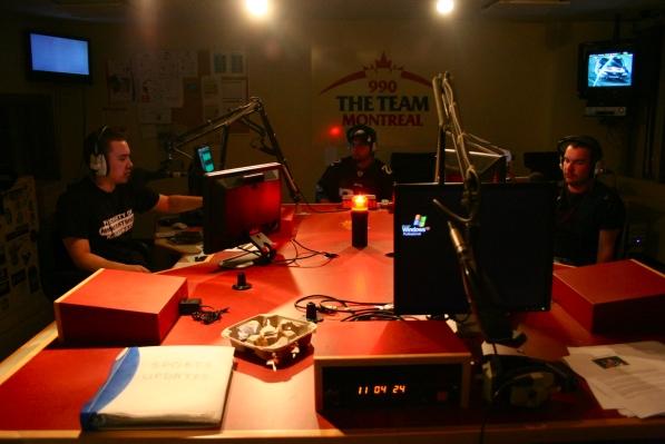 Ringside Report at the Team 990's studio