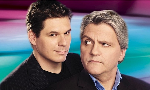 It's like they're trying really hard to be as gay-looking as possible. (Télé-Québec photo)