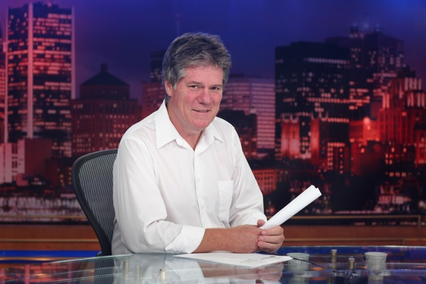 Dave Maynard on CTV set