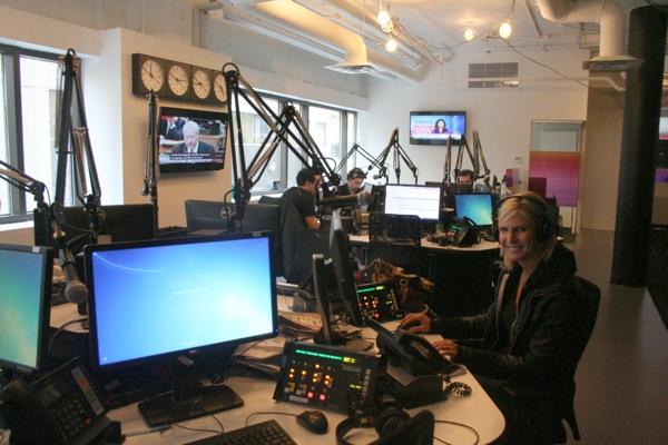 CJAD newsroom