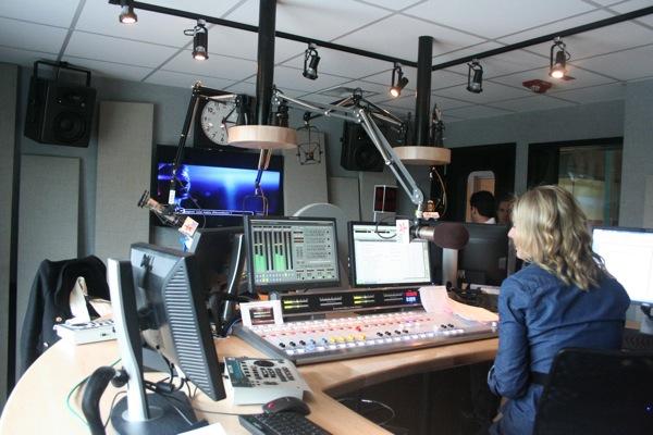 Virgin Radio studio