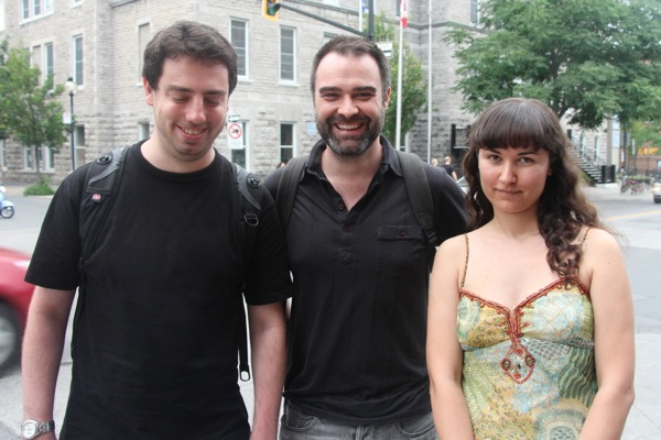 Cult MTL Managing Editor Lucas Wisenthal, Creative Director Brenden Fletcher and Editor-in-Chief Lorraine Carpenter
