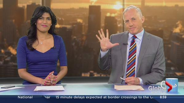 Richard Dagenais waves to the viewers one last time on May 15.