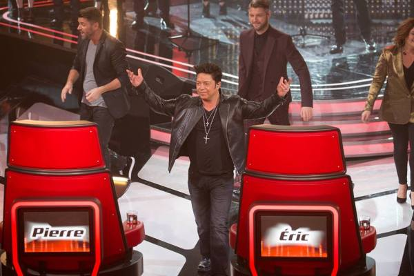 Is Éric Lapointe the least popular coach on La Voix (TVA photo)